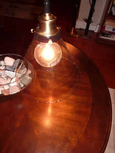 Hanging Pendant Light with bulb