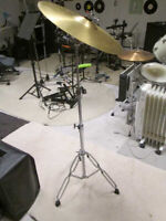 Cymbal+stand also big batch of Yamaha+Alesis rack-drum hardware