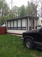 Trade 35 ft trailer for towable trailer, or GOOD pickup