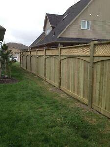 Fences Fence posts Fencing  Stratford Kitchener Area image 7