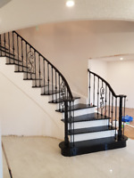 Stair and hardwood flooring, laminate & vinyl call us 6477799669