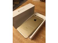 iPhone 6s 16gb gold, boxed with all accessories, excellent condition