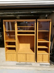 3 Piece Entertainment Centre with In-Cabinet Lighting