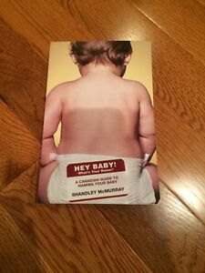 Hey baby. A Canadian guide to naming your baby book London Ontario image 1
