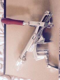 Worktop corkscrew