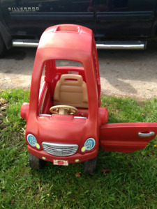 Step 2 coupe toddler car, red