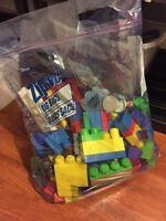 Big bag of mega blocks!