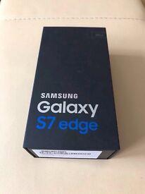 Brand New Samsung Galaxy S7 Edge SM-G935F - 32gb -Black Onyx -Unlocked - Sealed
