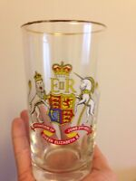 Queen Elizabeth 2 collectors glass $10