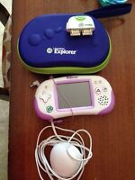 Leapster Explorer with accessories