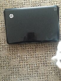 HP netbook with charger