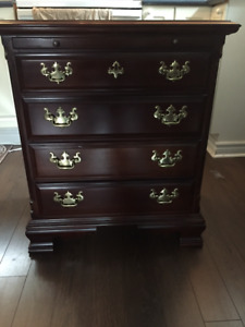 Sumter Cabinet Co Cherryvale - Bachelor Chest & Nightstand