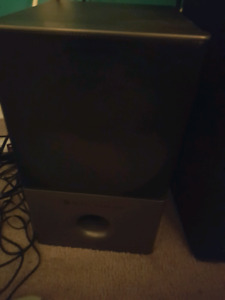 Altec Lansing computer speakers and subwoofer