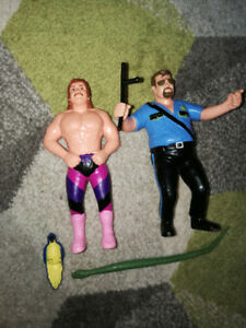 WWF LJN rare figures and accessories lot