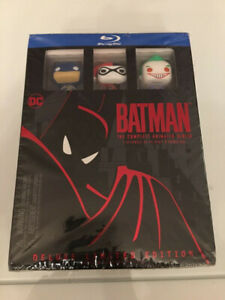 Batman the Animated Series Bluray Set Complete Mint sideshow