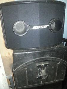 4 boites de son Bose 802