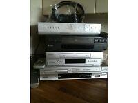 DVD video players sky box job lot