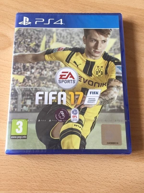 fifa 17 ps4 in bow london gumtree. Black Bedroom Furniture Sets. Home Design Ideas