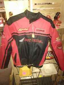 Mens Medium Honda Riders Club of America Motorcycle Jacket