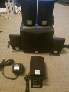 5 Speaker + Subwoofer by Creative