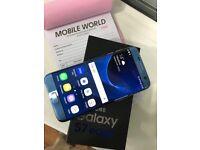 Samsung galaxy s7 edge Blue with box etc