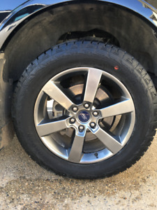 """2016 Ford F-150 275/55 r20 tires with 20"""" rims!!!!"""