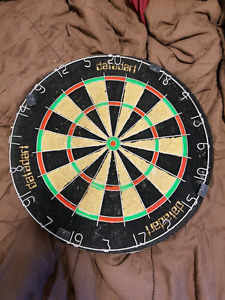 Used dart board