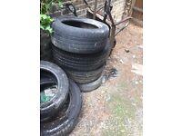 Free car tyres