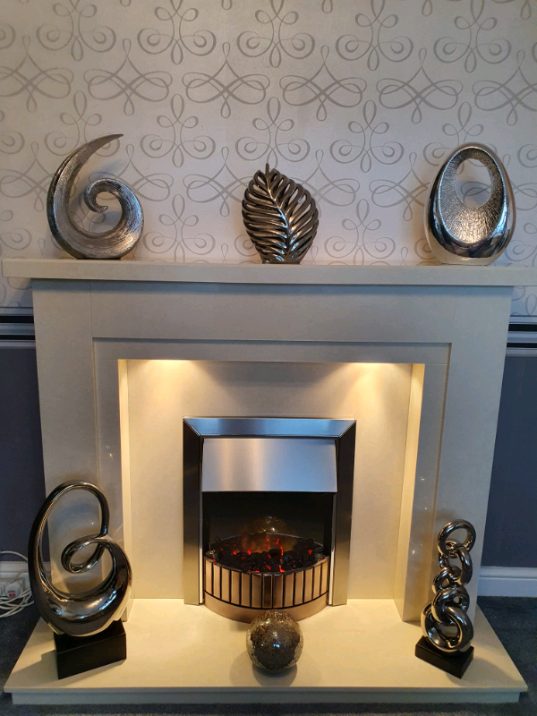 Electric Fire And Fireplace In Wolverhampton West