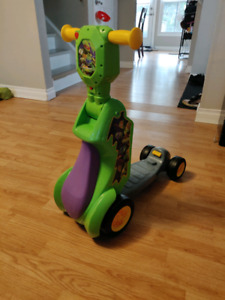 2 in 1 transformer Ninja turtles scooter