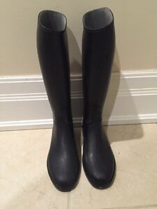 Girls Cadett Quality Riding Equestrian Boots Size 2
