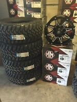 33 inch Dodge Ram Mud Tire And Rim Package
