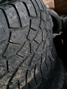 275/60/r20 COOPER ZEON ALL TERRAIN TIRES