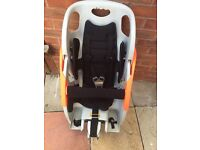 Baby/toddler/child attachment bike seat