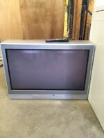 FREE large Toshiba TV with remote