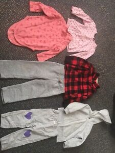 Girls Variety Of Clothing (Prices in Ad)