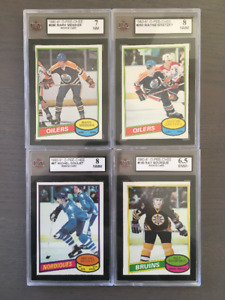 1980-81 O-Pee-Chee Hockey Card Set 665 of 396 cards, NM - NMM+,