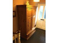 Gorgeous Large Solid Wood Wardrobe