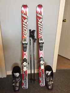 Ski, bottes de ski, batons, Junior (10-12 ans)
