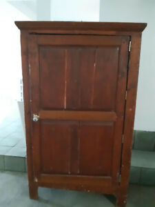 Armoire antique en pin - Antique pine dresser