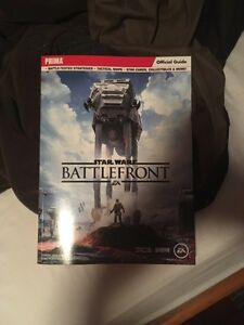 Starwars battlefront official game guide!