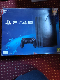 Boxed Ps4 pro (1tb) with 23 top title games in good condition