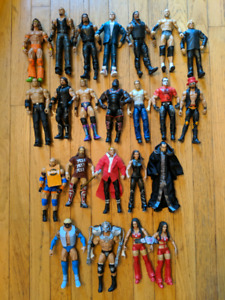 Wwe basic and elite action figures