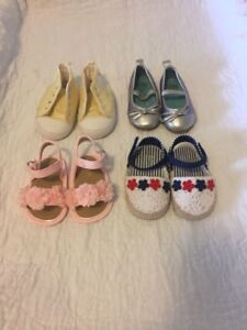 5 pairs of Baby girl shoes