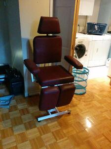 Chaise d'esthétique