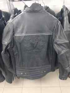 286126703 - VICTORY MOTORCYCLE LEATHER JACKET - BRAND NEW!