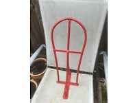 Red Saddle Rack