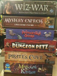 Various Board Games - Prices in Listing