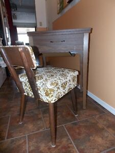 Sewing Table with Chair