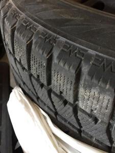 Bridgestone Blizzak 235/65 R16 Winter Tires and Rims!